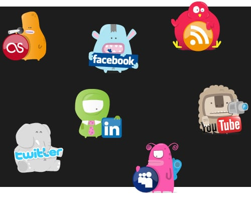 Freebie Friday – Download the Social Eyesores Icon Pack | Inspired Magazine