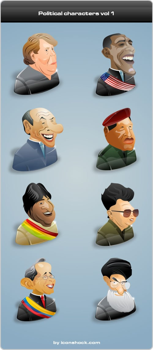 Political characters vol 1
