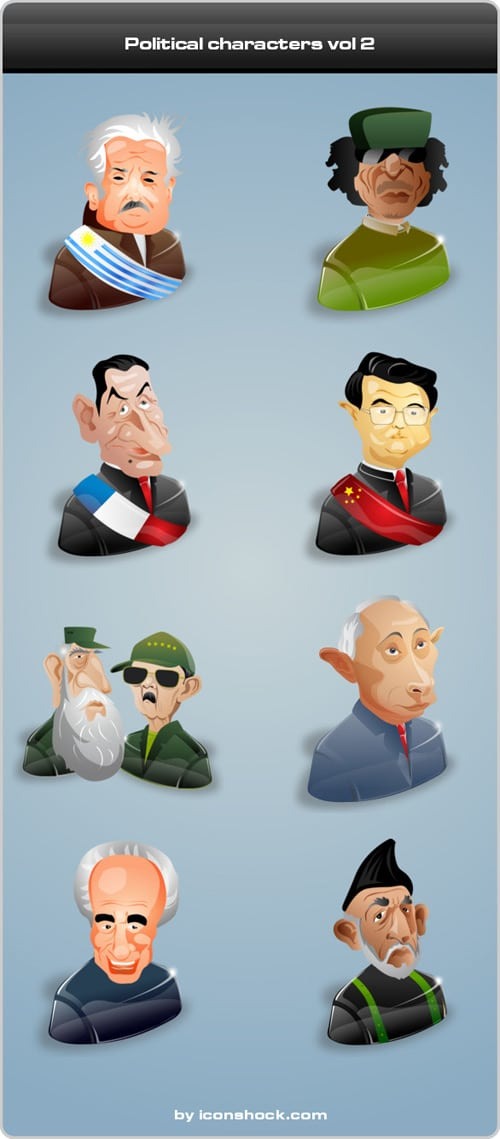 Political characters vol 2