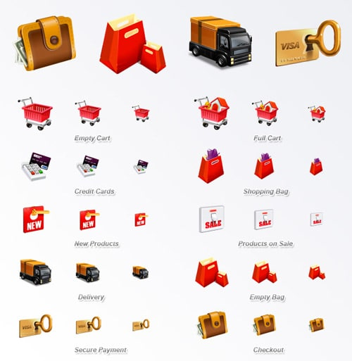 Web Icon Set - E-Commerce Icon Set