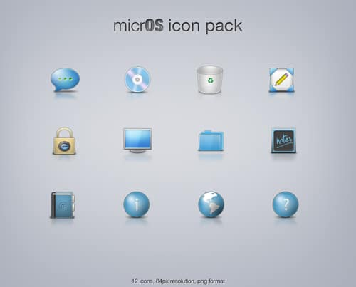 micrOS icon pack