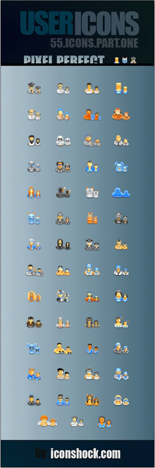 55 free user icons pixel by pixel icons