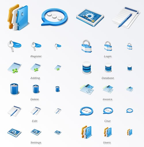 Web Icon Set - Application Icon Set