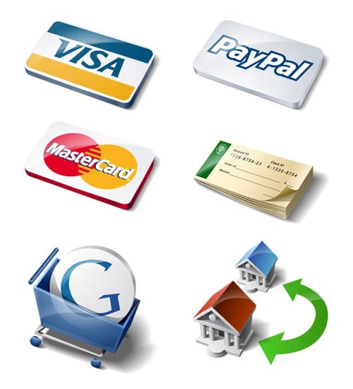 Exclusive Payment Method Icon Set for our readers - Speckyboy Design Magazine