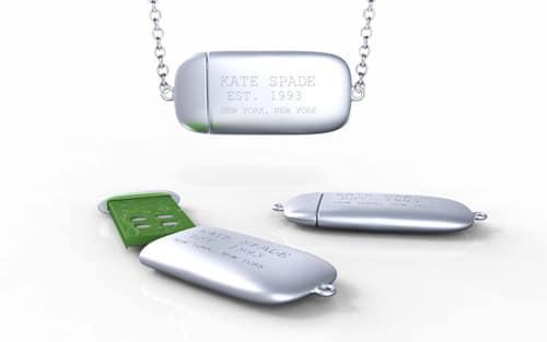 Kate Spade USB Charm