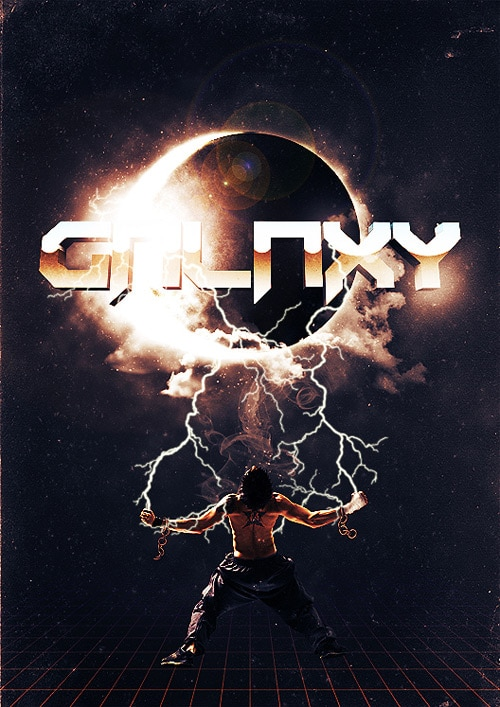 Create a Cosmic Sci-fi Poster Design in Photoshop