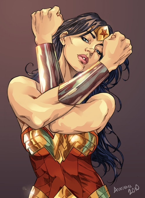 Wonder Woman - color by bauriema