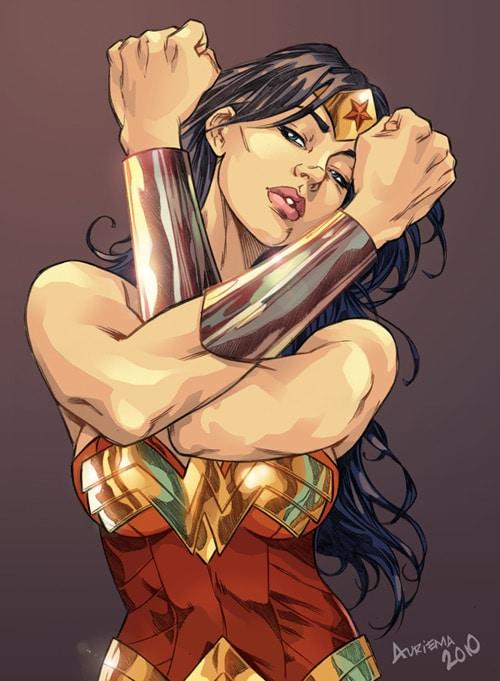 Wonder Woman - color by bauriema