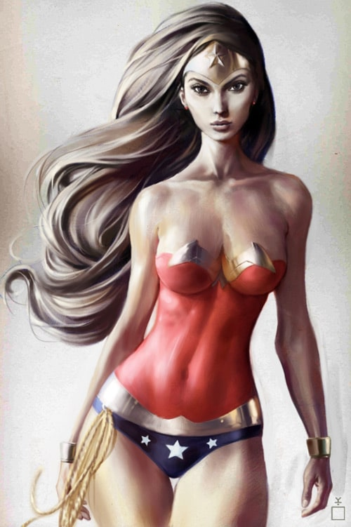 Wonder Woman by Kerong