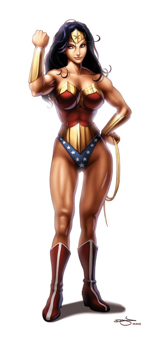Wonder Woman by Omar-Dogan