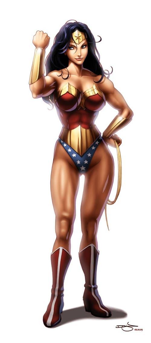 Wonder Woman by Omar-Dogan