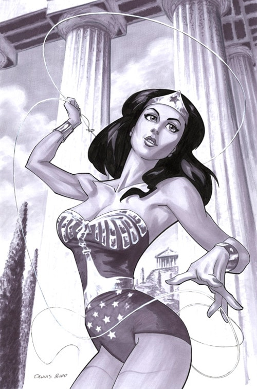 marker_Wonder Woman by DennisBudd