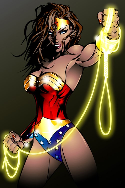 Wonder Woman by rjonesdesign