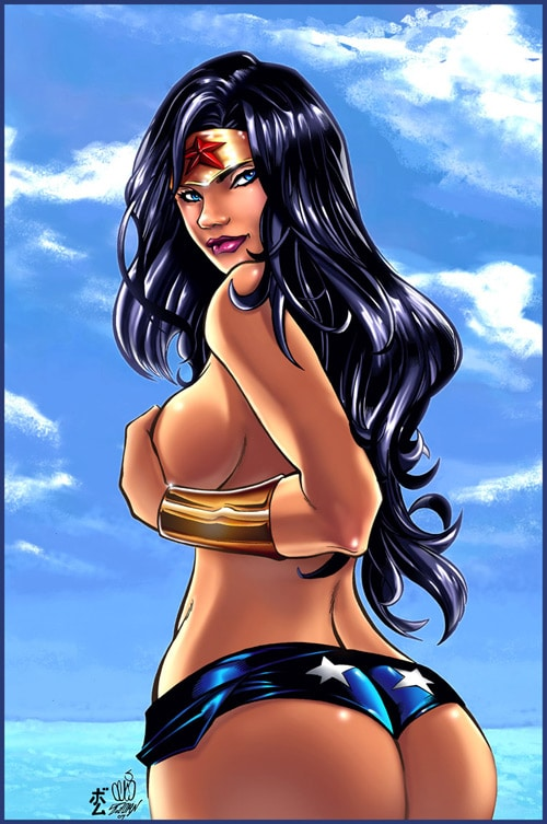 Wonder Woman Celaoxxx CG by Bomu