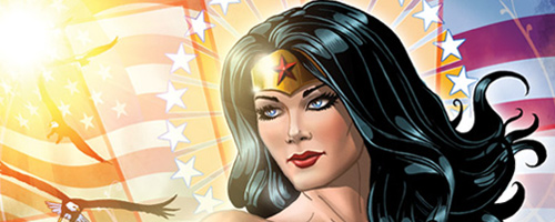 Wonder Woman: Comic Book Inspired Artwork