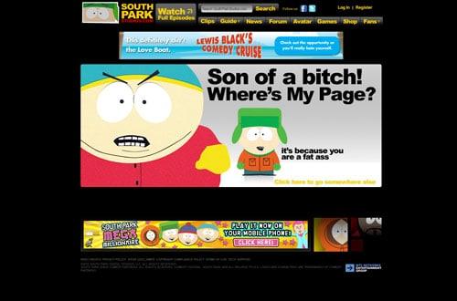 southparkstudios.com