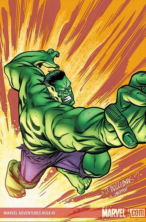 Latest Hulk cover by BroHawk