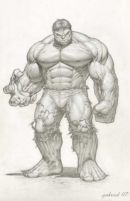 hulk by Jounim