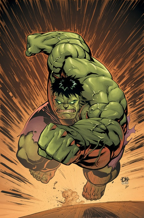 MA: HULK No. 14 Cover by david-nakayama