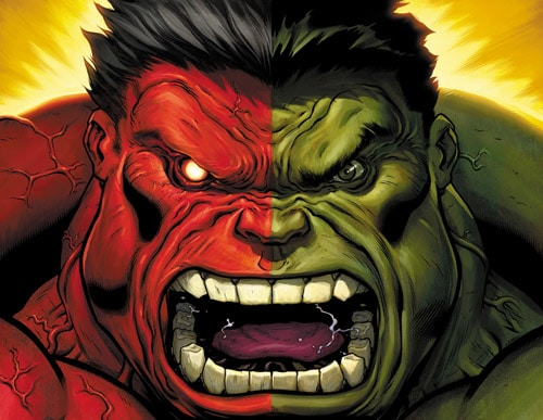 who is the red hulk by skage