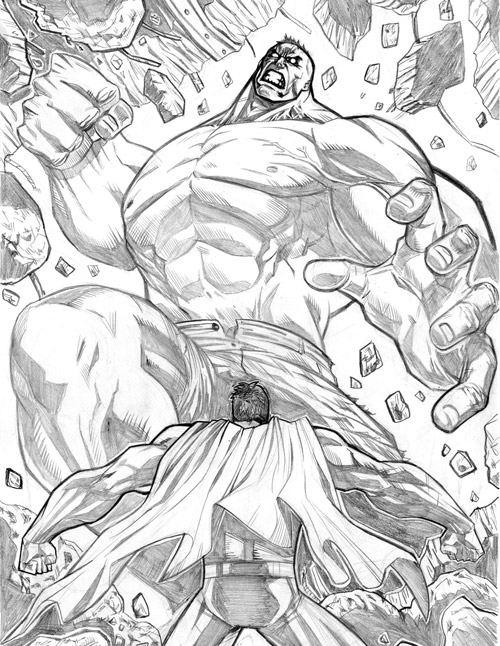 superman hulk fun by mikemaluk