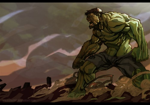 green green angst of hulk by nefar007