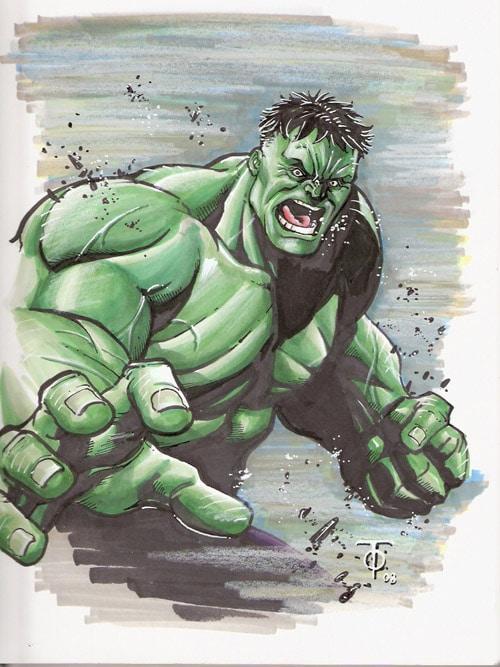 The Hulk by 0boywonder0