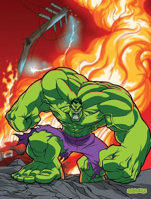 Hulk Am Mad by Jackademus