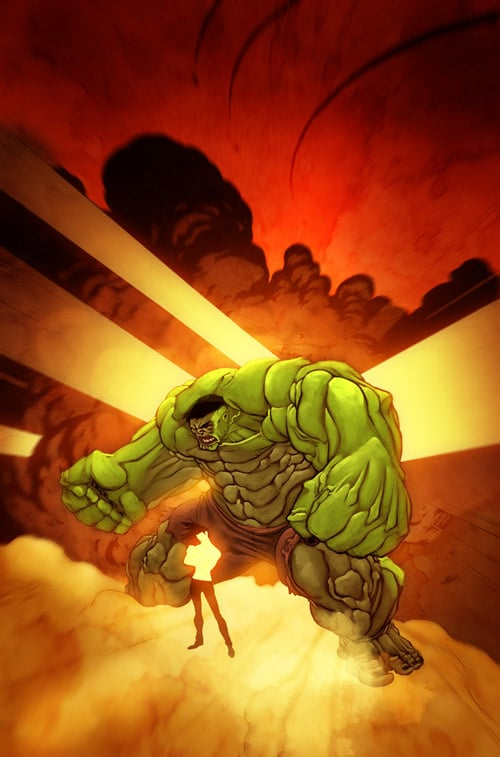 Hulk and the baby by BoOoM