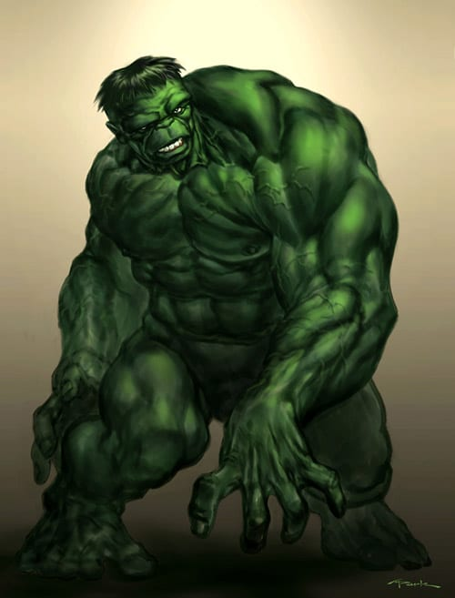 Hulk by andyparkart