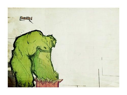 Hulk by DMurdoch