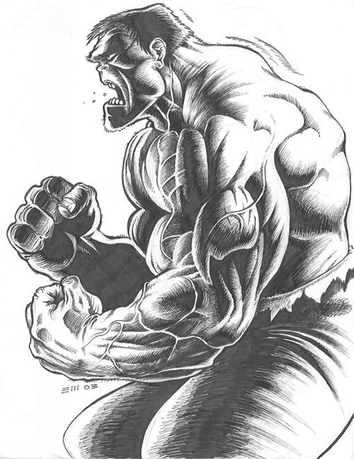 Hulk by Xagamus