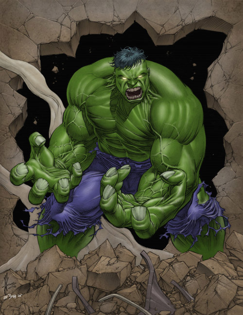Hulk by clunkworld