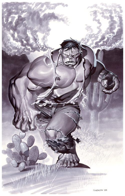 Hulk Origin Marker Illo by chriss2d