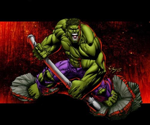 The Hulk by angel-t