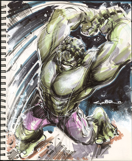 Hulk Smash by Cinar