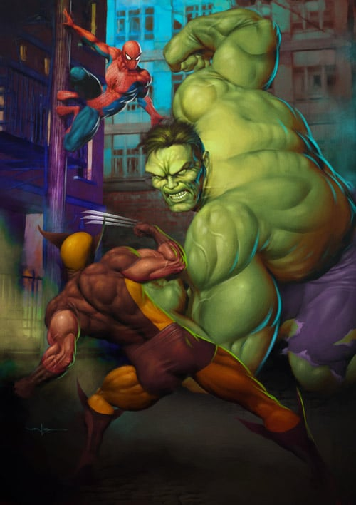 Hulk Smash by Valzonline