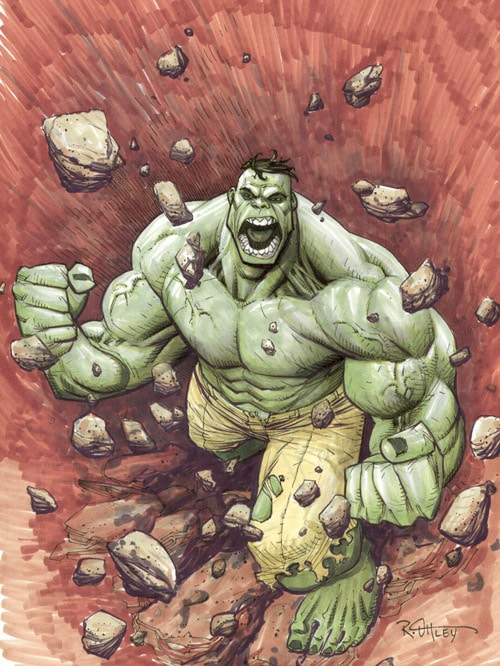 Hulk thanks you by WyA