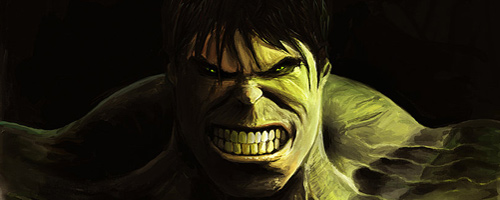 The Incredible Hulk Inspired Artwork