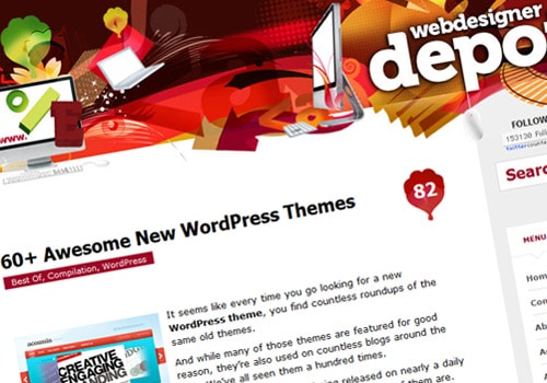 60+ Awesome New WordPress Themes