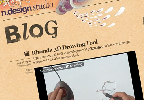 Rhonda 3D Drawing Tool