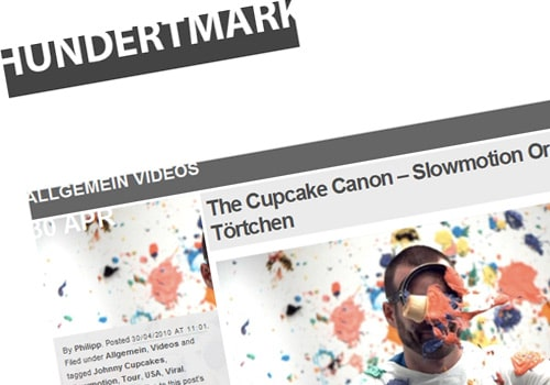 The Cupcake Canon – Slowmotion Orgie mit Törtchen