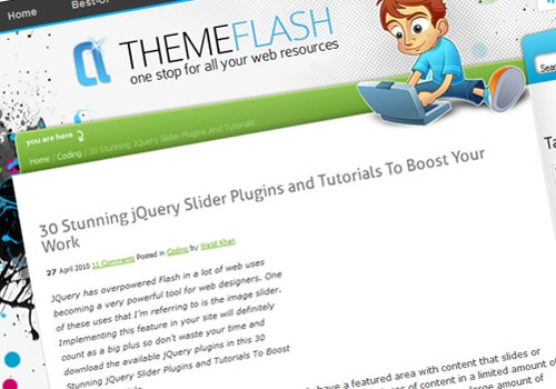 30 Stunning jQuery Slider Plugins and Tutorials To Boost Your Work