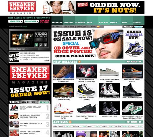 sneakerfreaker.com