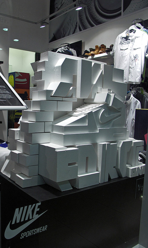 Nike Air Force 1 Sculpture