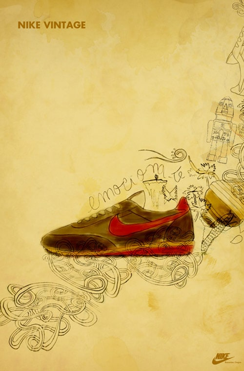 Nike Vintage_Ghost Campaign