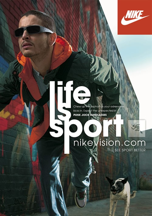 Nike life is sport