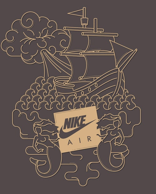 Nike Air - Sea & Heaven