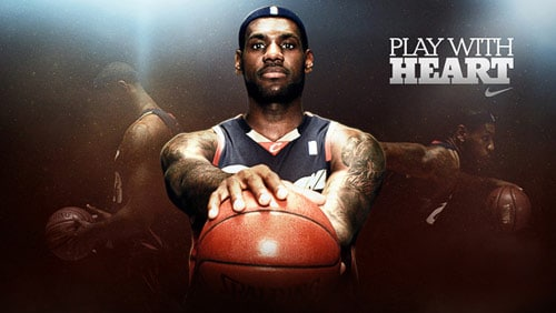 Lebron James - Play With Heart