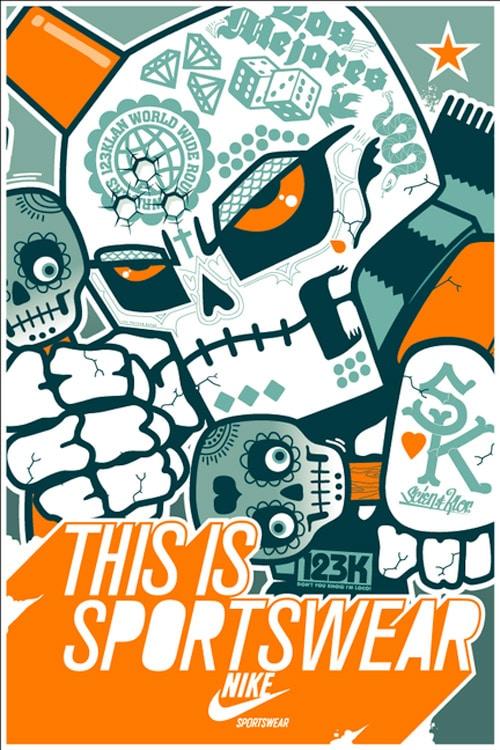 MEXICO NIKE SPORTSWEAR AD CAMPAIGN 2008